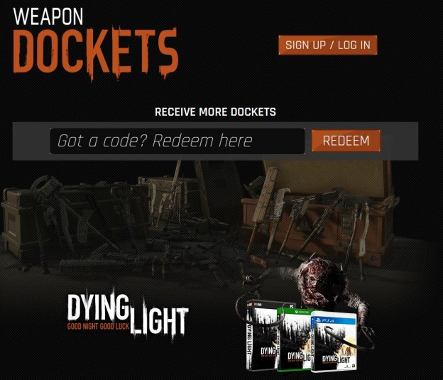 New Dying Light Docket Codes