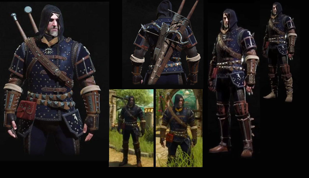 3 Armor Mastercraft Wolf Witcher