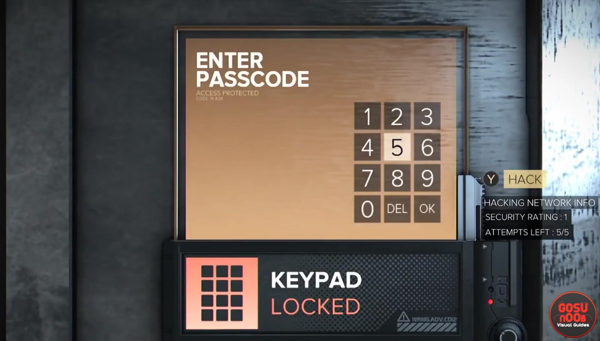Keypad Codes Amp Passwords Deus Ex Mankind Divided