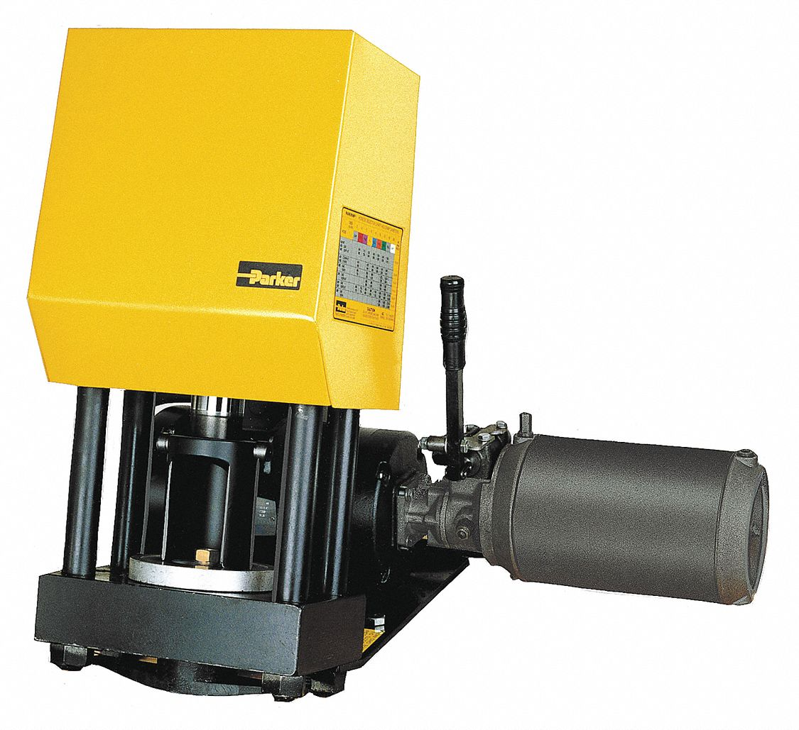 Parker Bench Hydraulic Hose Crimping Machine No Pump