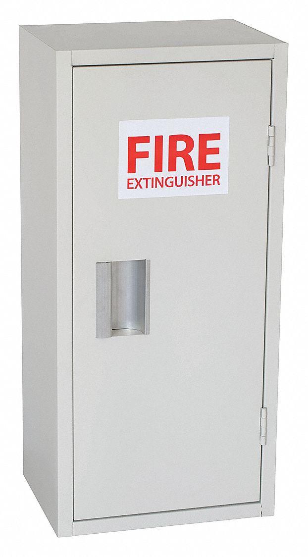 GRAINGER APPROVED Fire Extinguisher Cabinet, 25-9/16 ...