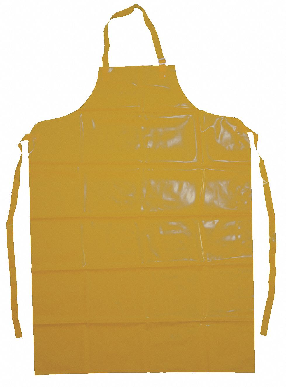 Ansell Chemical Resistant Bib Apron Yellow 50 Quot Length