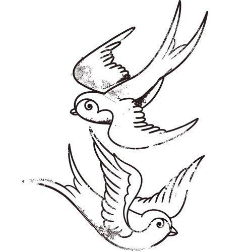 Anchor Tattoo Ribbon