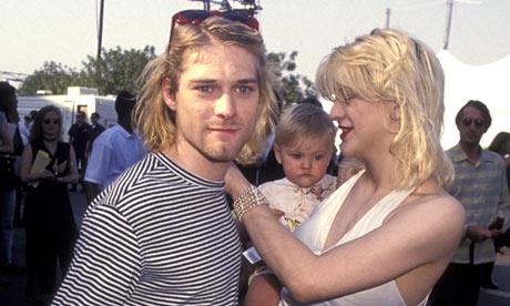 Courtney Love plans Kurt Cobain movie   Music   The Guardian