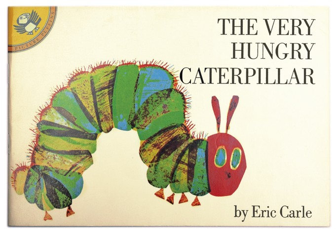 Caterpillar Hungry Cover Book