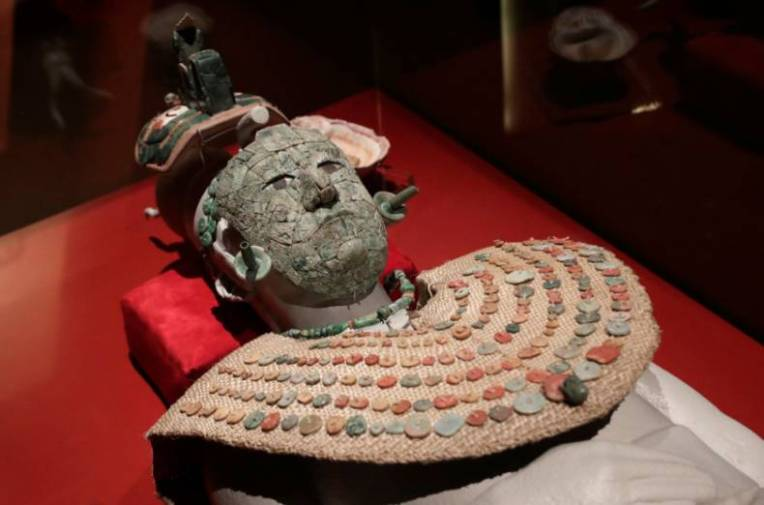 The Maya  Red Queen  comes to life in Mexico city museum   GulfNews com nextprevExpand  copy of 2018 07 27t184852z 1346017780 rc14eb198020 rtrmadp
