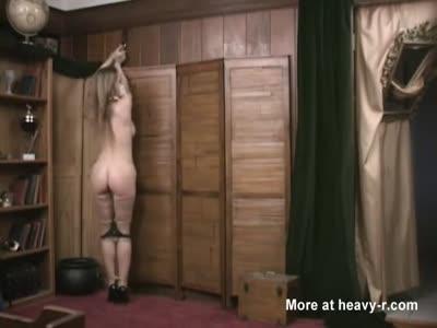 Magic Bondage Torment For Busty Blonde