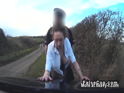 Police Man Fucking Mature Brunette