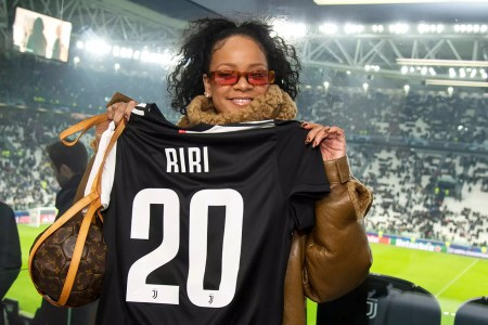 Rihanna Is All-In On The Juventus Hype After Attending UCL Match