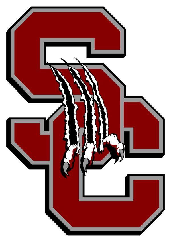 Creek High Logo Silver School