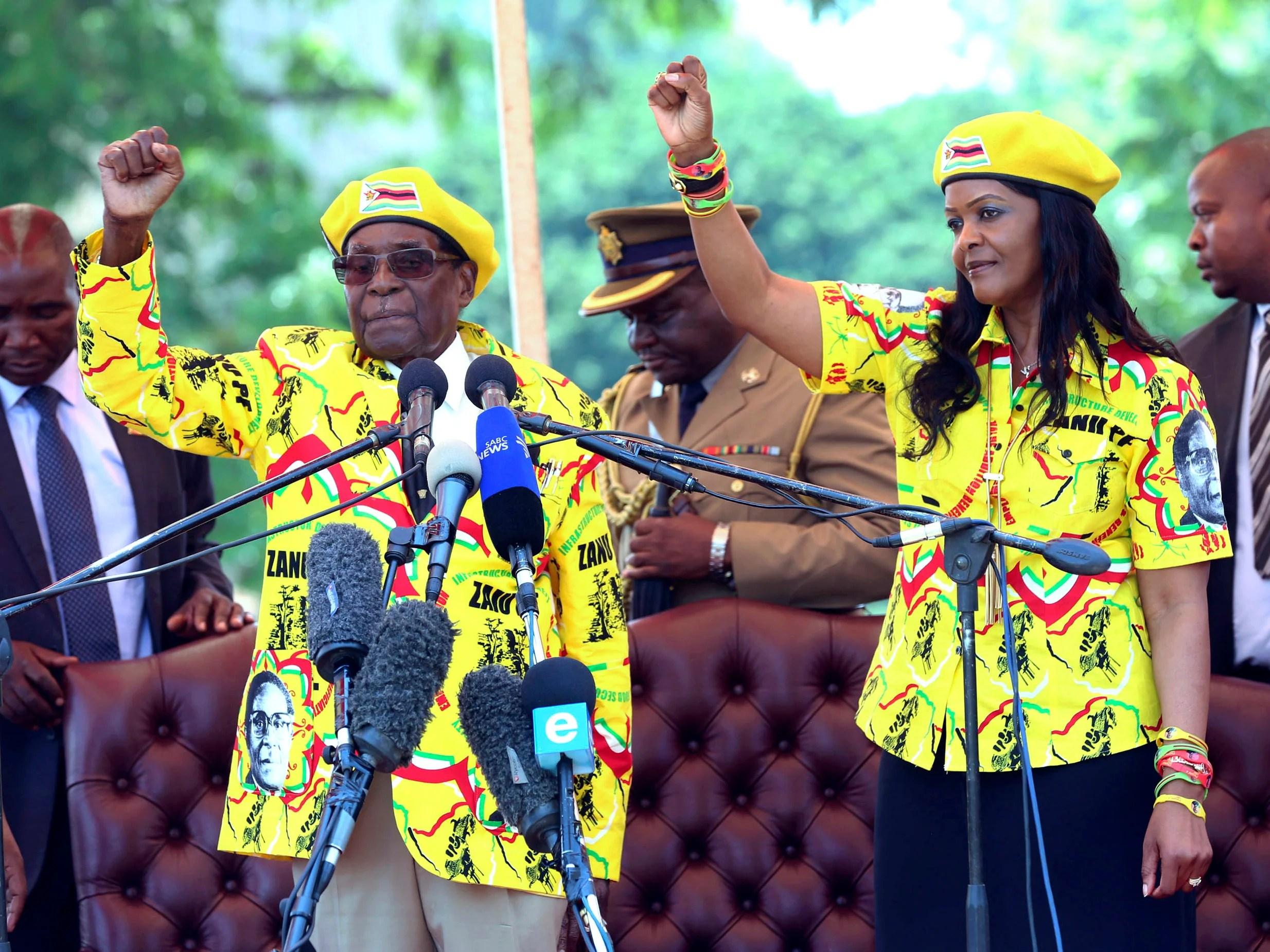 Zimbabwe: Robert Mugabe's Zanu-PF drawing up plans to sack ...