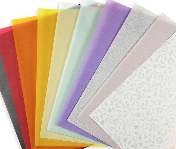 Coloured Card Wedding Invitations