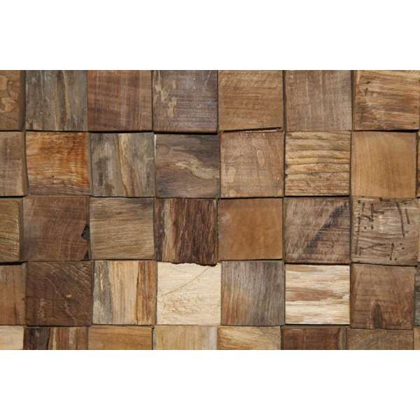 HSM Collection wanddecoratie hout   naturel       Beweeg over de afbeelding om in te zoomen