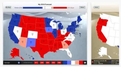 6 Resources to Help You Track the 2016 US Presidential Election This is much more than a place to make predictions for the 2016 election   though you can do that here  too  270toWin allows you to map which states  are