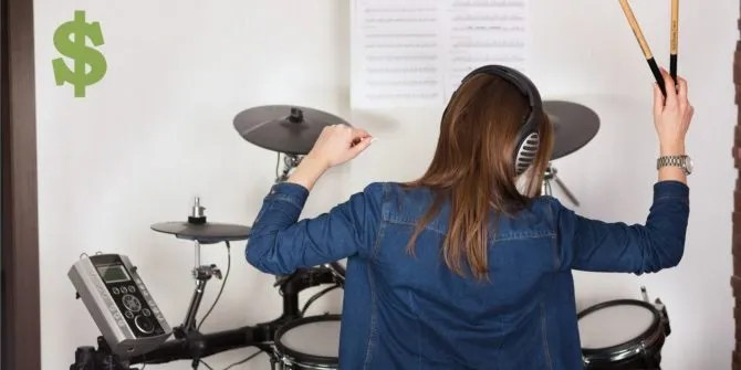 The 4 Best Electronic Drum Kits for Under  600