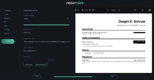 Resume Pdf Maker Free Resume Templates Resume Templates