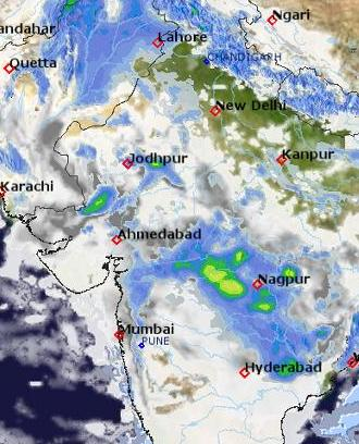 HD Decor Images » Weather maps   India   meteoblue map map