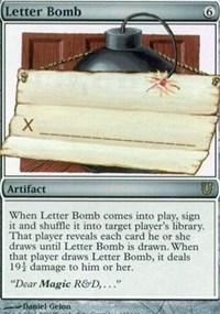letter bomb # 43