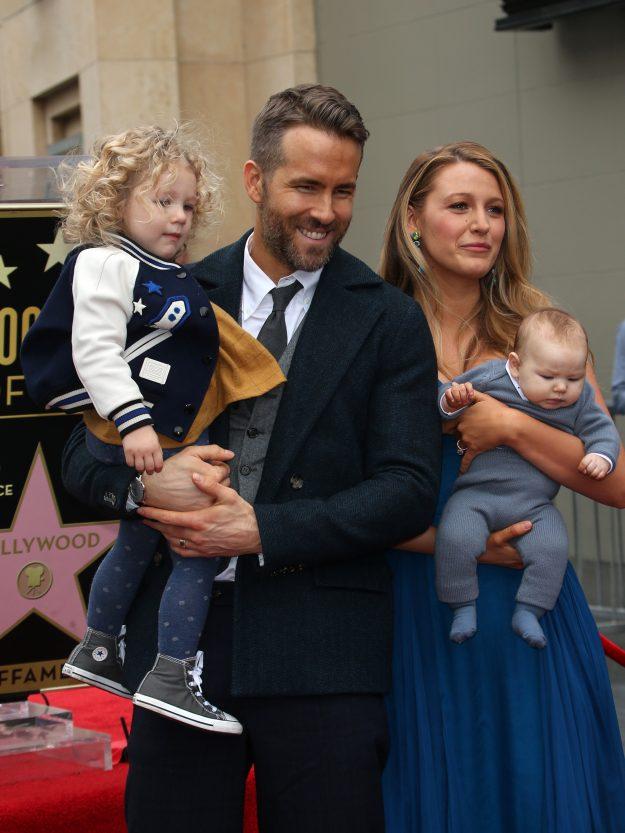 Blake Lively and Ryan Reynolds children make their red ...