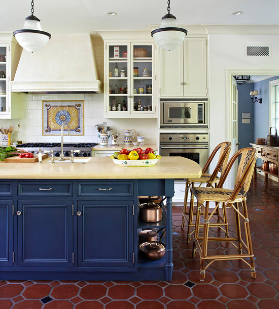 Kitchen Triangle Design Island