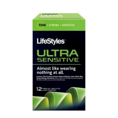 $27.99 Lifestyles Ultra Sensitive Condoms - 12 Pack - 12 ...