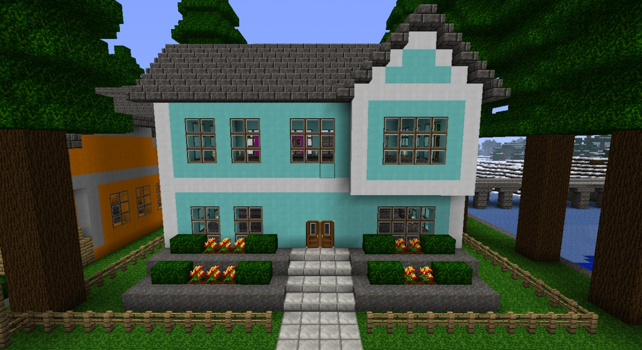 Houses Minecraft Vacation
