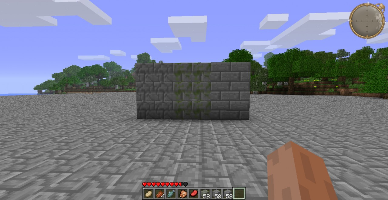 Moss Texture Minecraft Stone