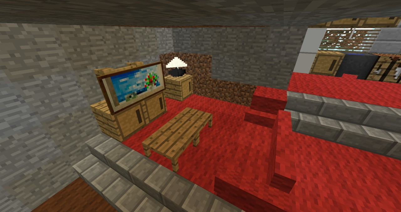 Interior Decoration Minecraft