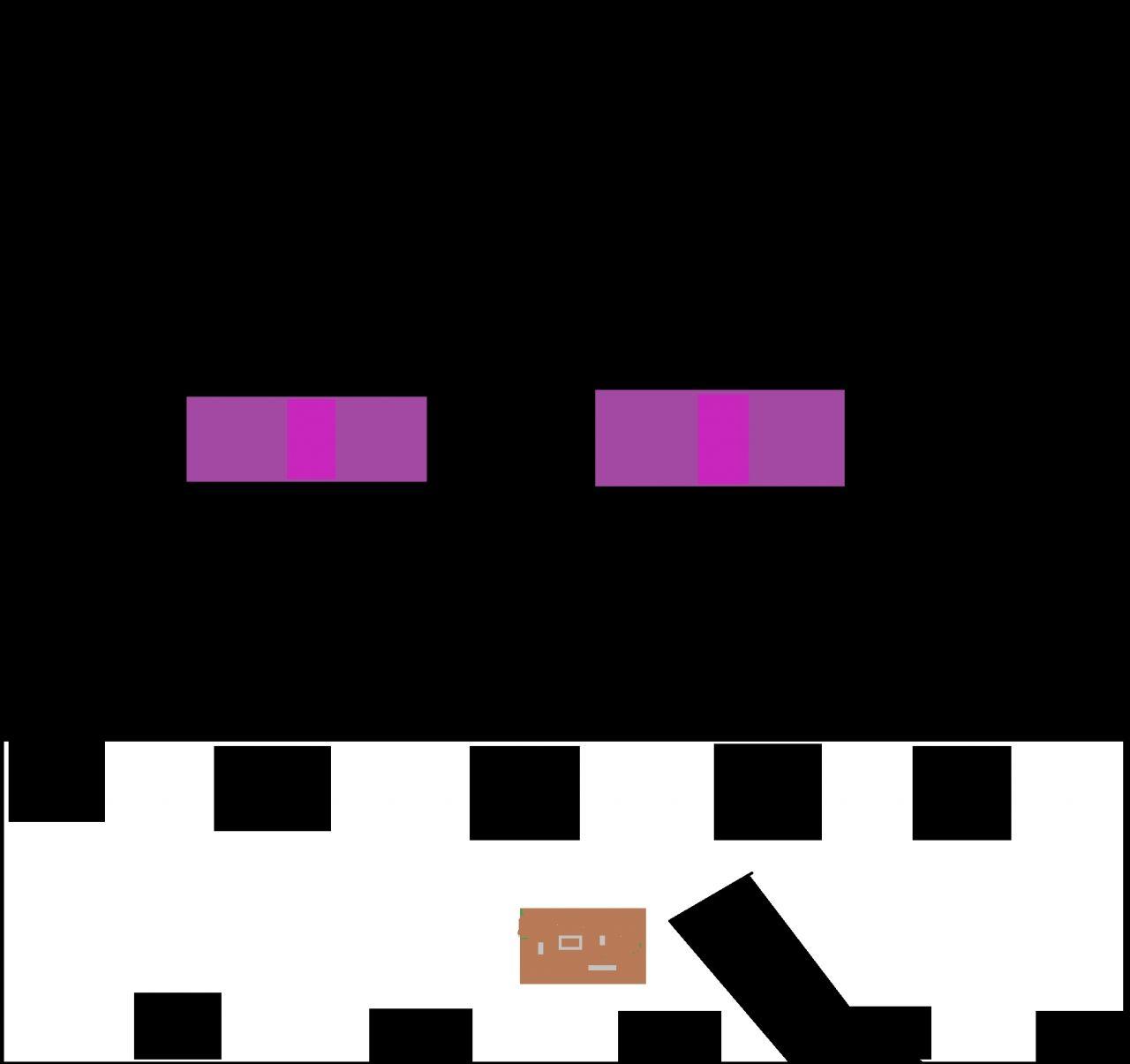 Holding Minecraft Enderman Diamond