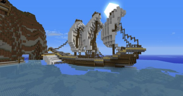 pirate ship minecraft # 2