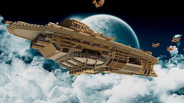 Airship Minecraft Blimp 2019
