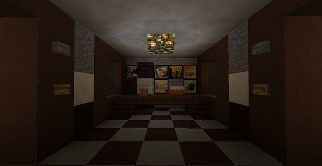 Five Map Minecraft 2 Freddys Nights