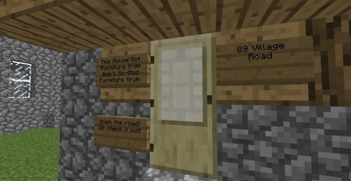 Minecraft Furniture Command Block Code