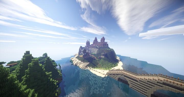Map Skyrim Minecraft Adventure
