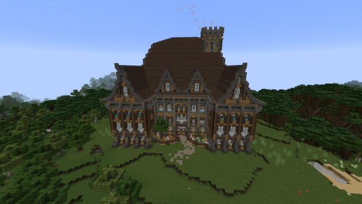 Ky S Medieval Mansion Minecraft Project