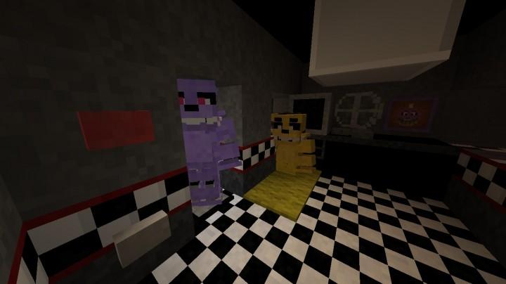 Freddys Five Nights 2 Minecraft