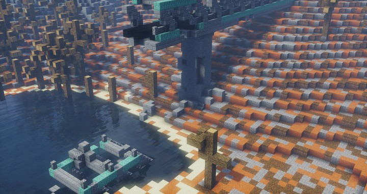 Fallout 4   Minecraft build Minecraft Project Demolished overpass