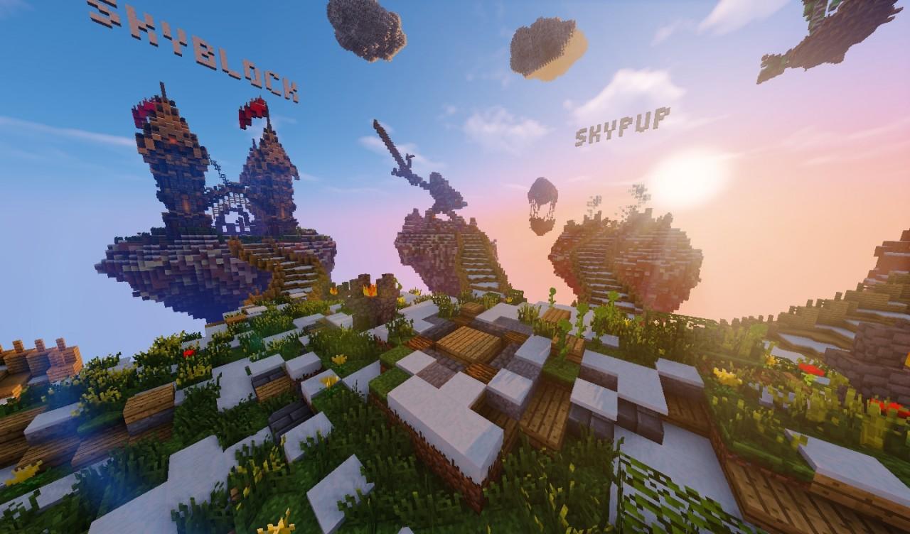 Server Skyblock Pe Minecraft Ip