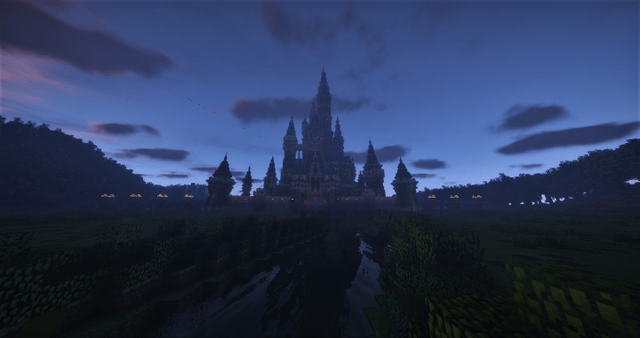 Disney Castle Intro Minecraft Project
