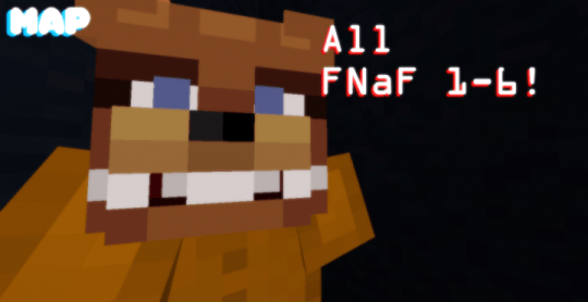 Five Nights at Freddy s All 1 6 Map  Minecraft Project Icon