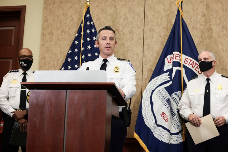 Capitol Police Whistleblower Delivers Withering Rebuke To Two Of His Senior Leaders On Jan. 6