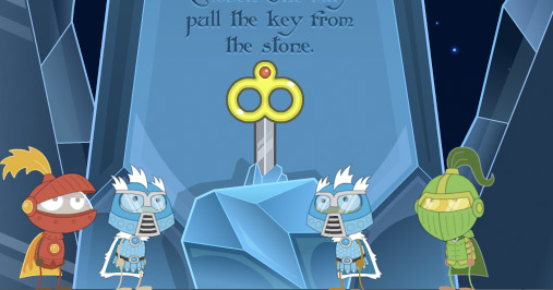 Blue Astro Knights Knight Poptropica