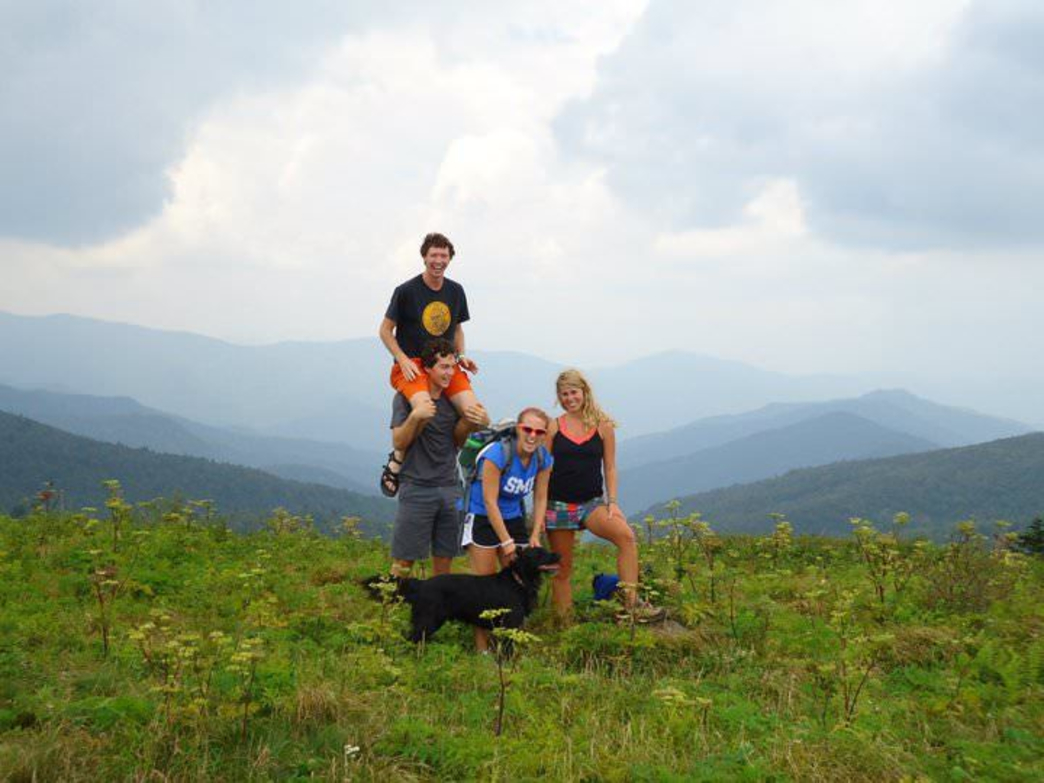 Black Balsam Knob Hiking