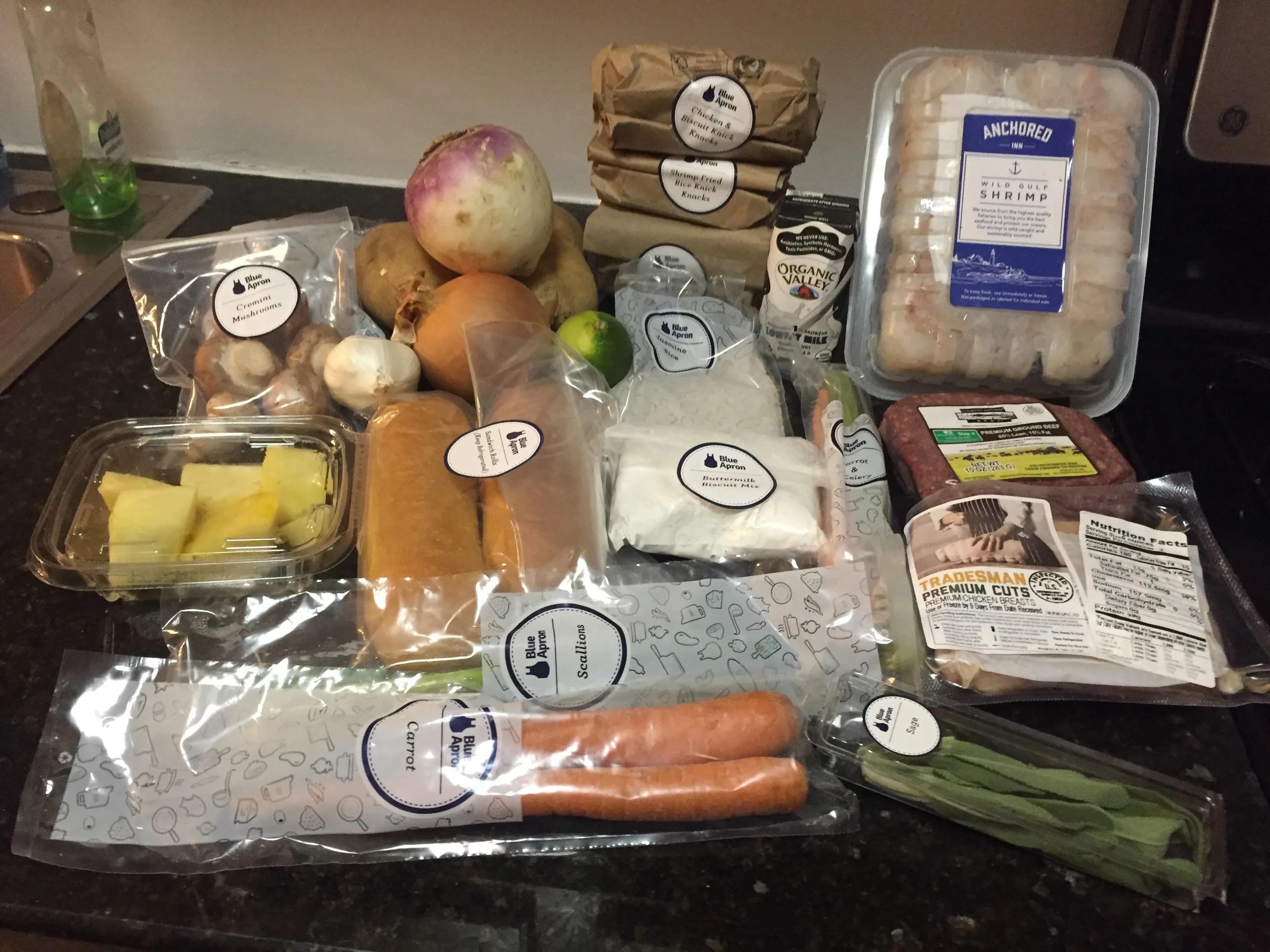 Fresh Food Subscription Box