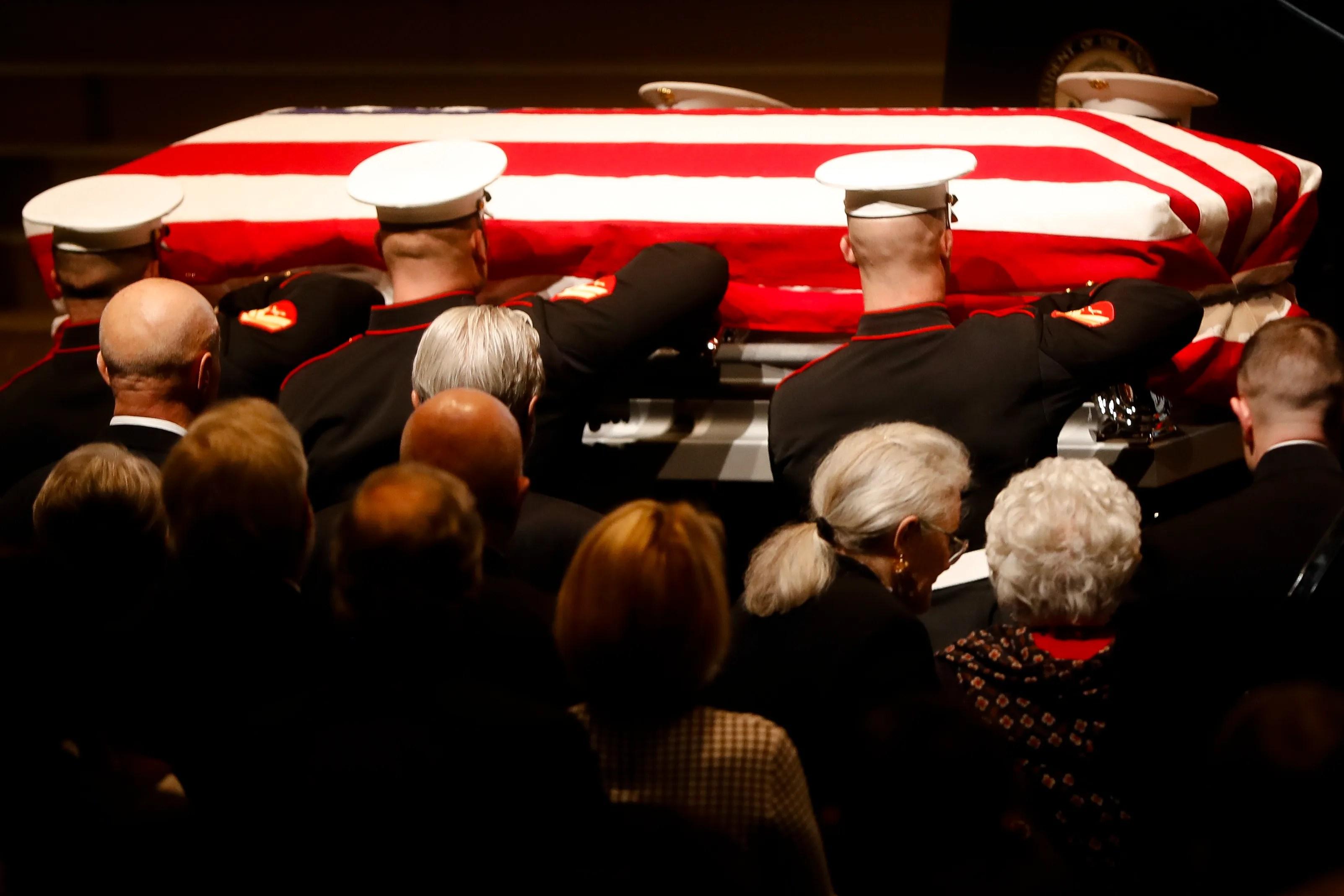 Senator John Glenns Funeral