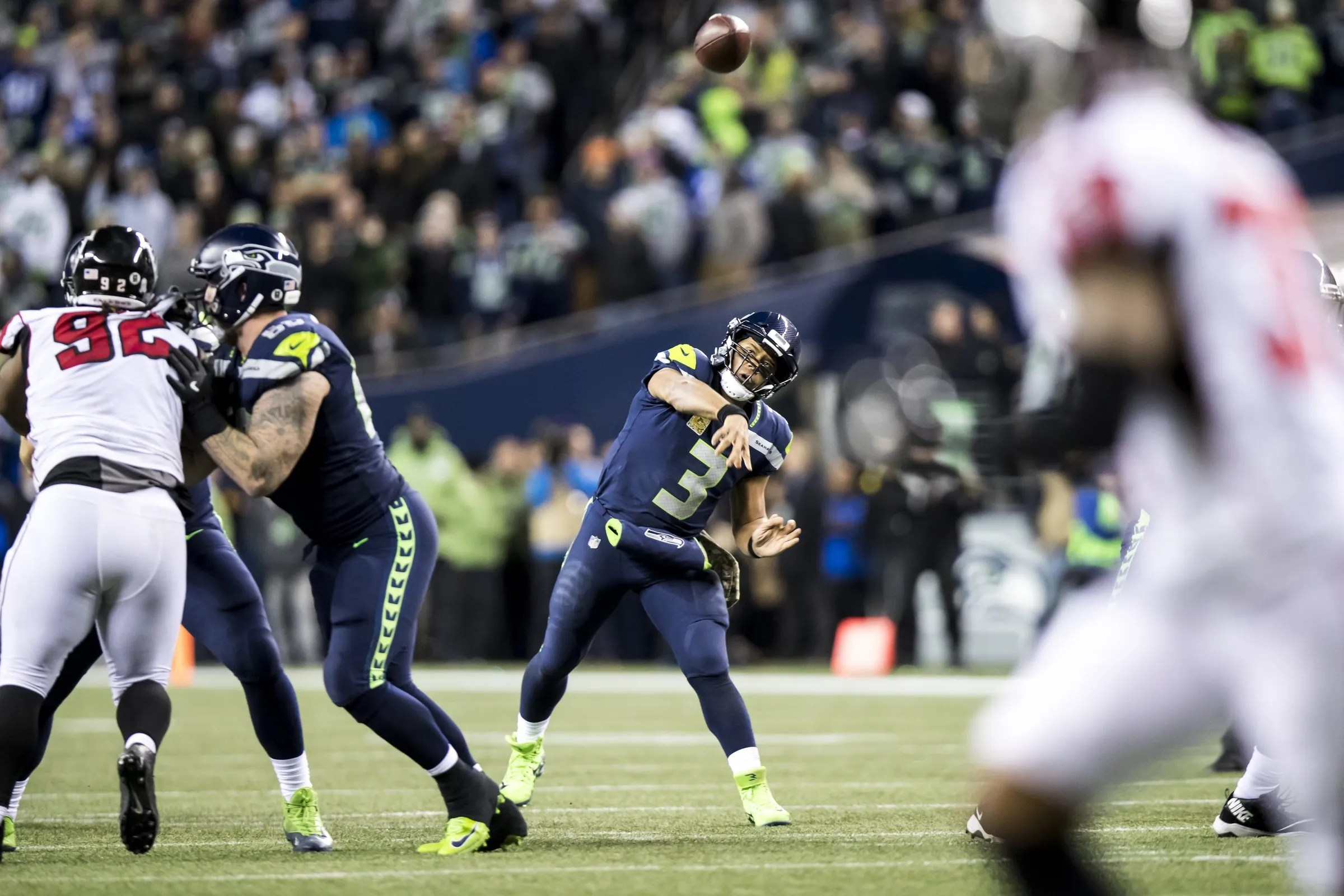 Two-minute drill: Russell Wilson is Seahawks' player of ...