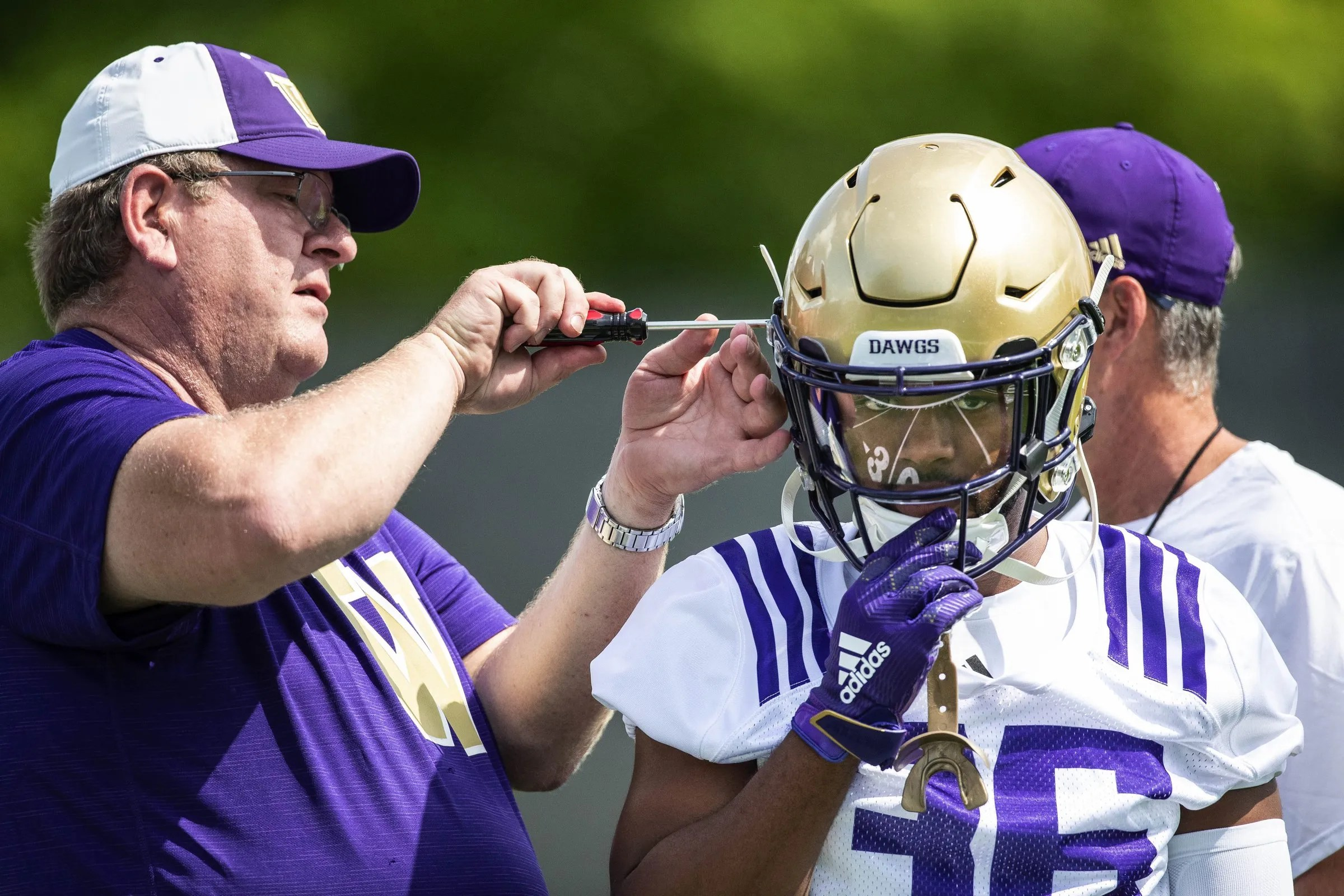 Impressions from the first day of UW Huskies fall camp ...