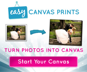 Easy Canvas Print: 16×20 Print Only $34.99 + Free Shipping.