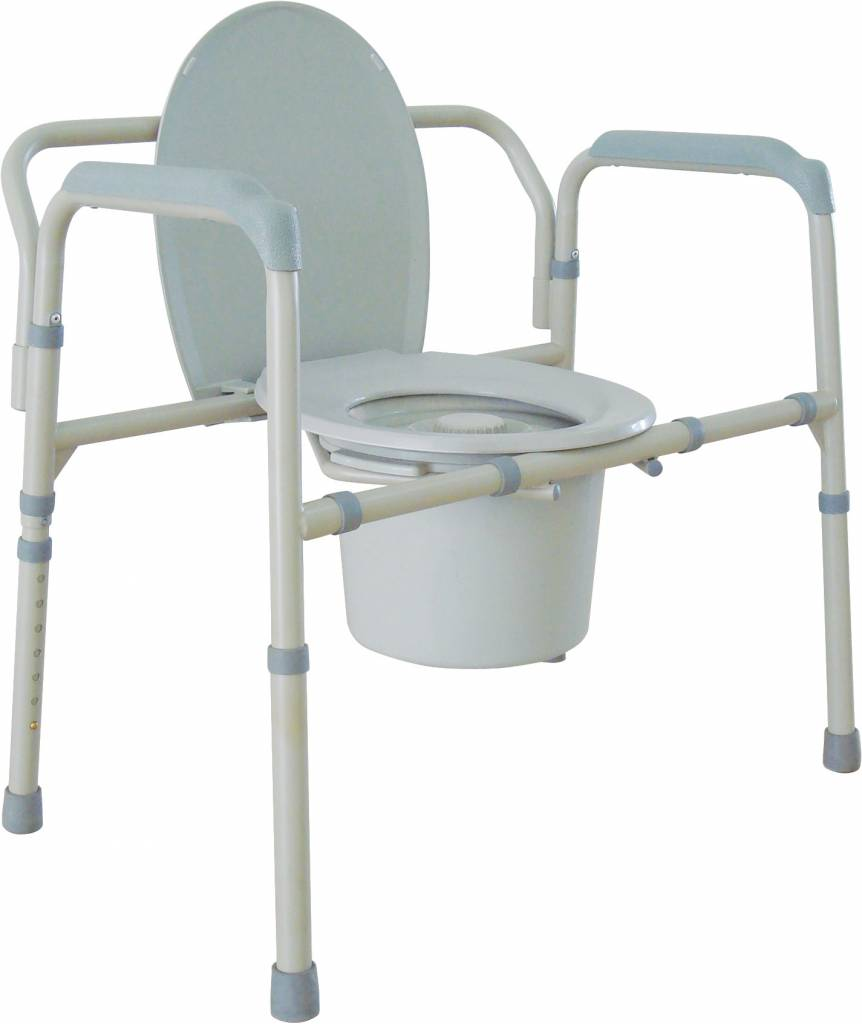 Drive Commode  Folding   CSE Mobility and Scrubs Drive Medical Drive Commode  Folding