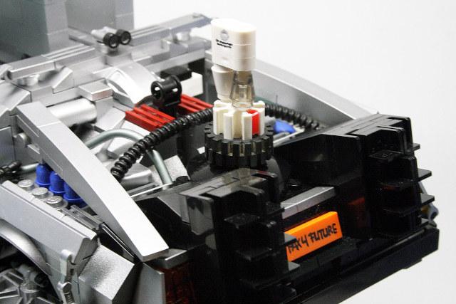 Back To The Future 1 15 Scale Lego Delorean Geektyrant